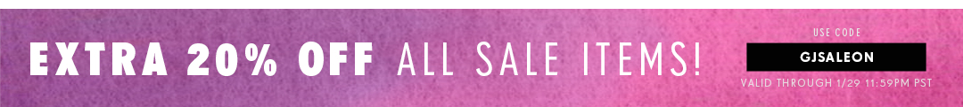 20% Off All Sale Items >