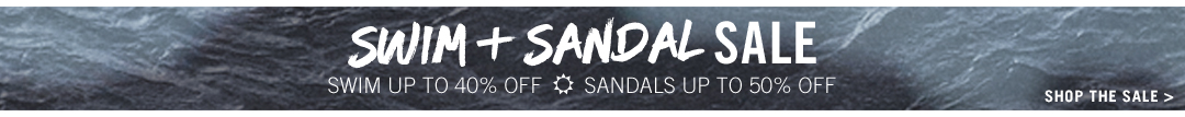 Sandal Sale: Up to 50% off!