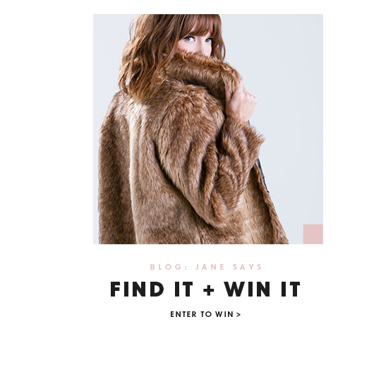 Find it and Win it on the GoJane Blog
