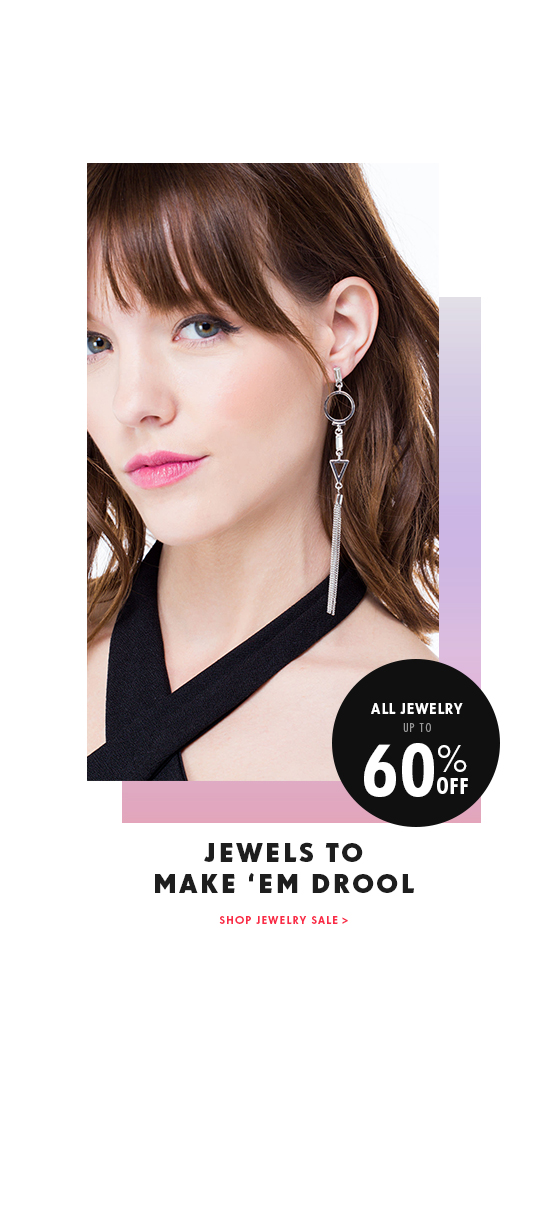 Up to 60% off All Jewelry