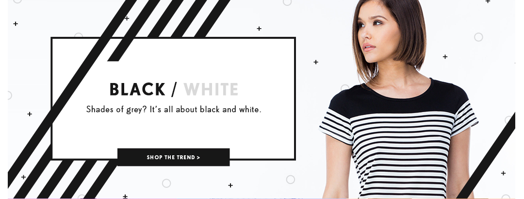 Shop Black & White Trend