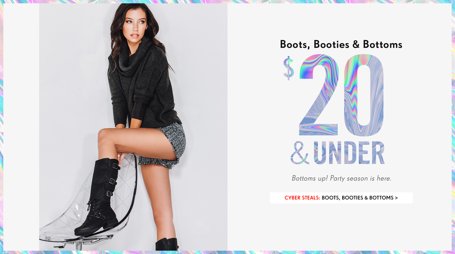 Shop Boots, Booties & Bottoms