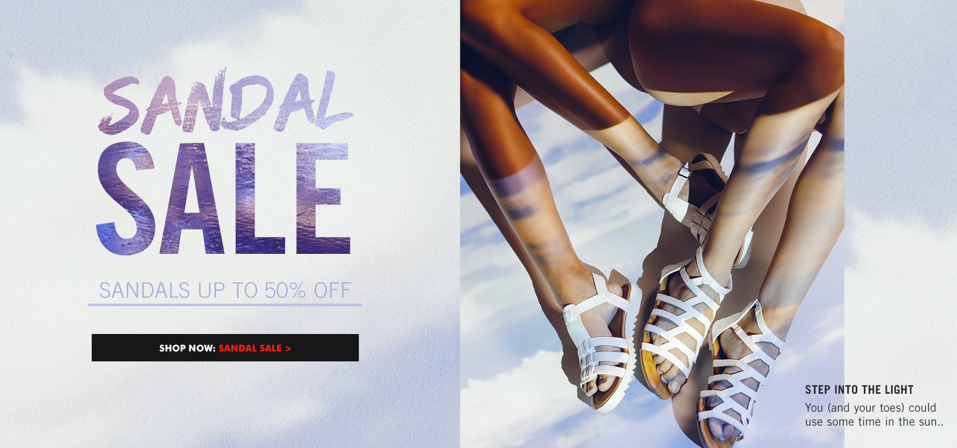 Sandals Sale: Up To 50% Off
