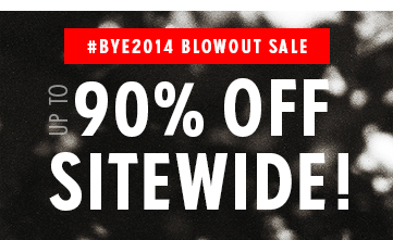 #BYE2014 BLOWOUT SALE