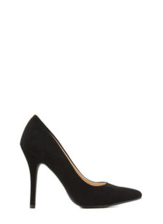 Unfinished Biz Faux Nubuck Heels