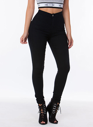Cheap Black High Waisted Jeans - Is Jeans