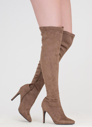 Smooth Trip Over-The-Knee Boots