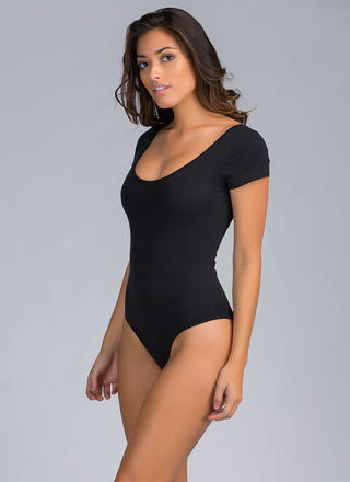 One Scoop Or Two Basic Bodysuit
