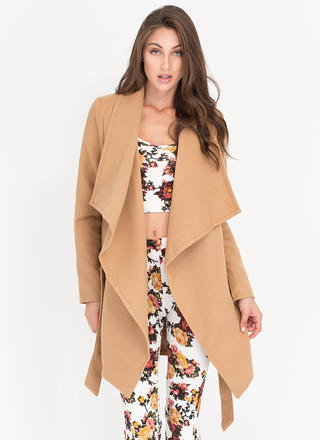 Flasher Forward Trench Coat