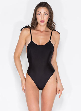 Temperature Rising One-Piece Swimsuit