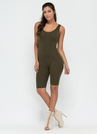 Get The Scoop Cropped Jumpsuit