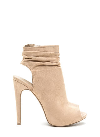 Undeniable Style Faux Suede Booties