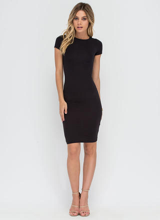 Fits You To A T-Shirt Midi Dress