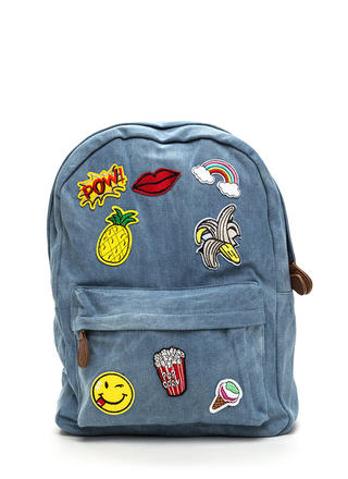 Mix 'N Patch Denim Backpack