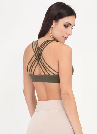 Strappy Accident Caged Bralette