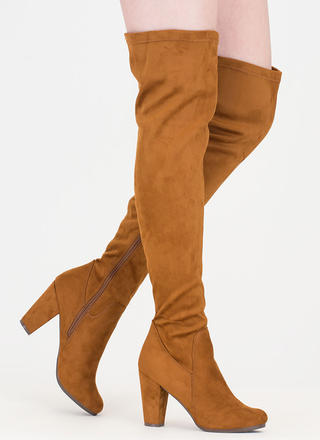 Thigh's The Limit Over-The-Knee Boots