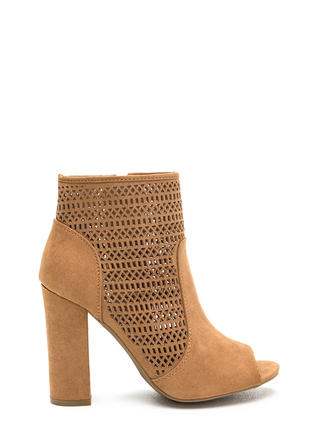 Shape Shifter Cut-Out Chunky Booties