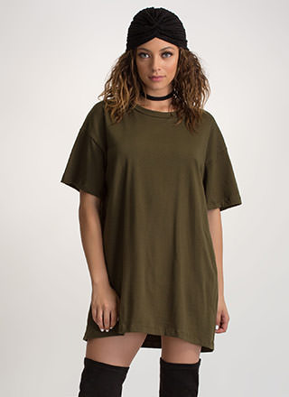 What's The Big Idea Oversized Tee