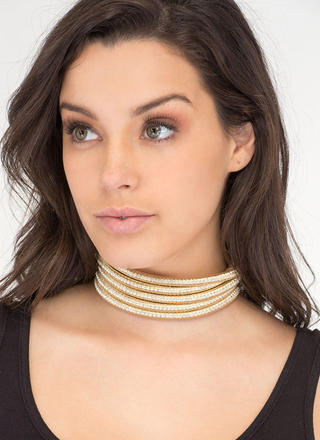 Cord Management Metallic Choker