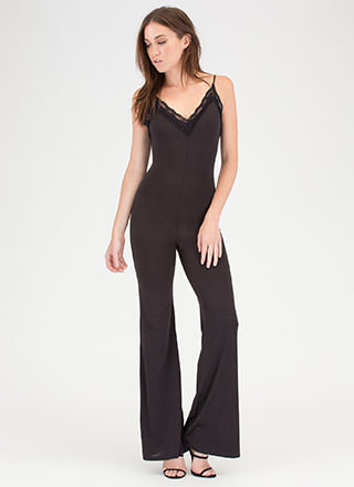 Romantic Touch Palazzo Cami Jumpsuit