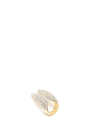 Wild About Sparkle Double Talon Ring
