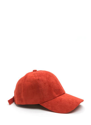 Soft Touch Faux Suede Cap