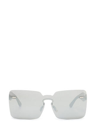 Pool Party Mirrored Rimless Sunglasses