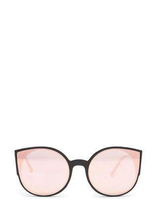 Right Meow Rounded Cat-Eye Sunglasses