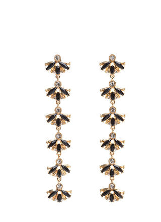 Fan Favorite Jeweled Earrings