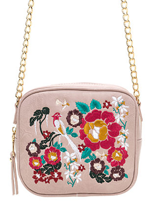Good Nature Embroidered Purse