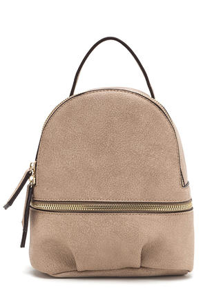 Daily Sidekick Faux Leather Mini Backpack