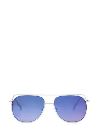 Chic Views Cut-Out Brow Bar Sunglasses