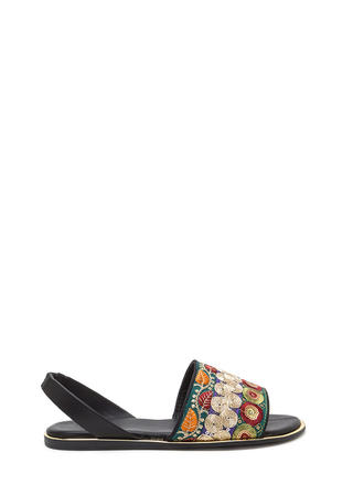 Embellish The Story Embroidered Sandals