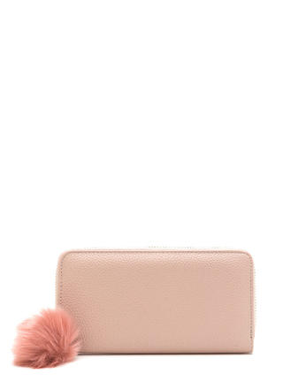 Fur Good Faux Leather Zip Wallet
