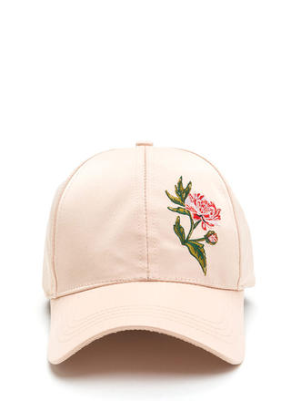 Smell The Roses Satin Baseball Hat