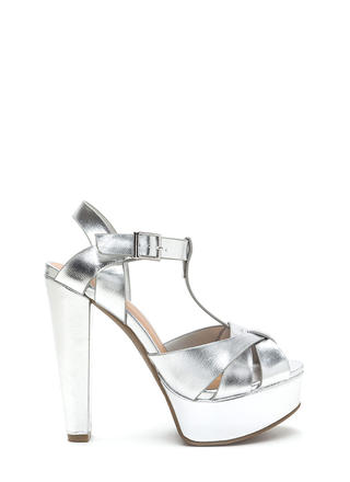 Silver & Gold Sandals, Flats & Other Metallic Shoes