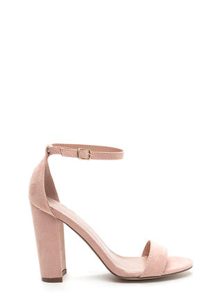 Ankle Strap Heels - Single Strap Heels for Less