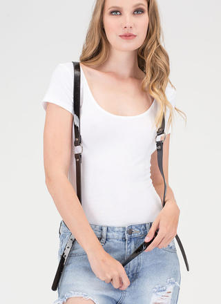 Strapped In Suspender Harness