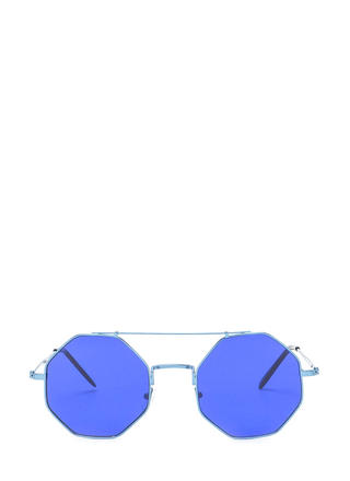 In The Octagon Futuristic Sunglasses