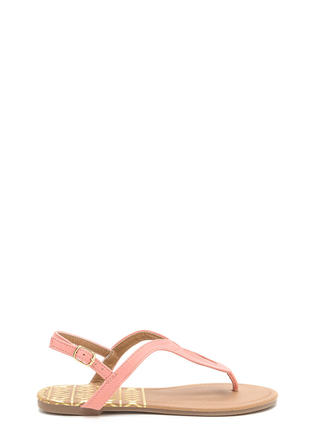 Loop Dreams Faux Nubuck Sandals