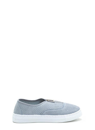 Box 'Em Up Perforated Platform Sneakers