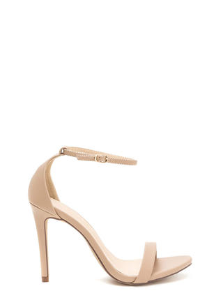 Livin' Is Easy Ankle Strap Heels