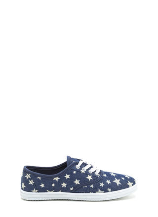 A Star Is Born Denim Look Sneakers