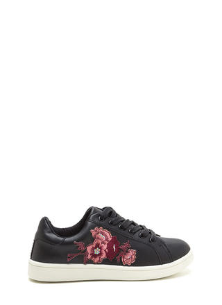 Petal Pusher Embroidered Sneakers