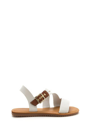 Warrior Style Faux Leather Sandals