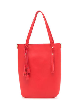 Day To Day Faux Leather Tote Set