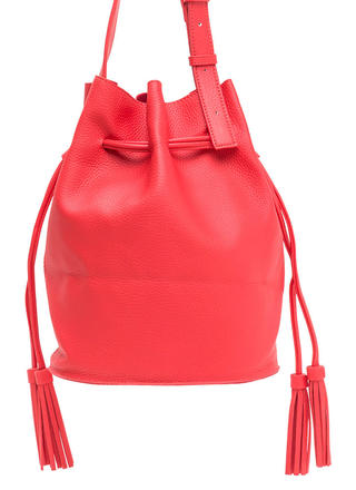 Luck Of The Drawstring Bucket Bag