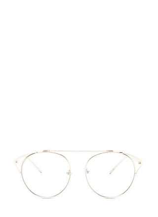Frame Of Reference Round Glasses
