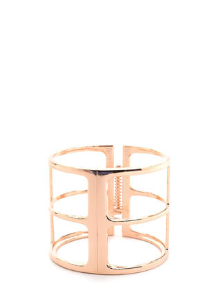 Outside The Box Cut-Out Cuff Bracelet