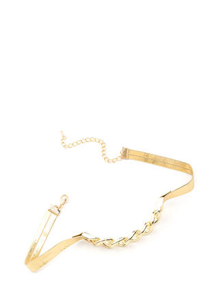 Chain Of Pace Metallic Choker